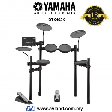 Yamaha DTX402K Electronic Drum Set  (DTX-402K/DTX 402K) *Crazy Sales Promotion*