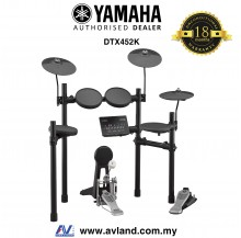 Yamaha DTX452K Electronic Drum Set  (DTX-452K/DTX 452K) *Crazy Sales Promotion*