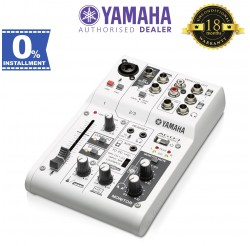 Yamaha AG03 3-Channel Mixer/USB Interface For IOS/MAC/PC (AG-03)