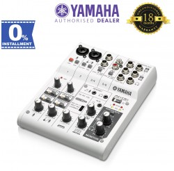 Yamaha AG06 6-Channel Mixer/USB Interface with Cubase AI (AG-06)