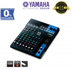Yamaha MG10 10-Channel Mixer (MG-10)