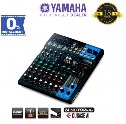 Yamaha MG10XU 10-Channel Mixer with Effects & Cubase AI (MG-10XU)