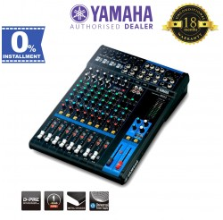 Yamaha MG12 12-Channel Mixer (MG-12)