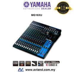 Yamaha MG16XU 16-Channel Mixer (MG 16XU) * Crazy Sales Promotion *