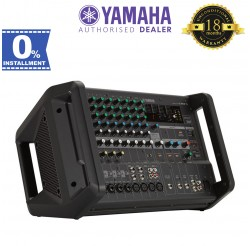 Yamaha EMX5 12-Input Powered Mixer with Dual 630-Watt Amp (EMX5-RK )