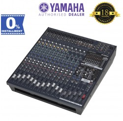 Yamaha EMX5016CF 16-Input Powered Mixer with Dual 500 Watt Amp (EMX-5016CF)