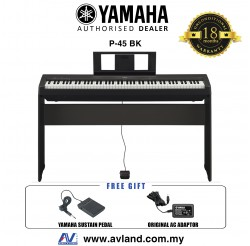 Yamaha P-45 88-Keys Digital Piano (P45 / P 45)
