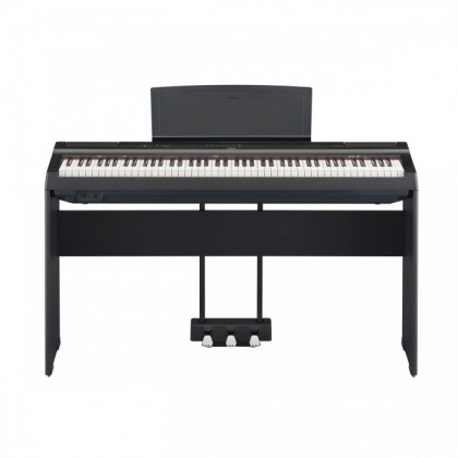 Yamaha P-125 88-Keys Digital Piano Black with Keyboard Bench (P125 / P 125)