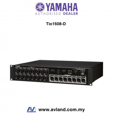 Yamaha Tio1608-D 16-in/8-out Digital Stage Box with Dante (Tio1608D) * Crazy Sales Promotion *