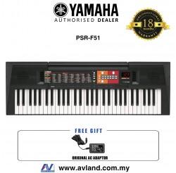 Yamaha PSR-F51 61-Key Portable Keyboard (PSRF51 / PSR F51) *Crazy Sales Promotion*