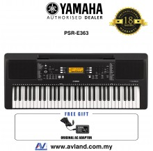 Yamaha Keyboards PSR-E363 61-Keys Portable Keyboard (PSRE363 / PSR E363) *Crazy Sales Promotion*