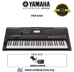 Yamaha Keyboards PSR-E463 61-Keys Portable Keyboard (PSRE463 / PSR E463) *Crazy Sales Promotion*