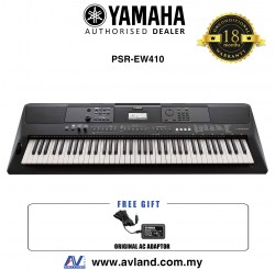 Yamaha PSR-EW410 76-key Portable Keyboard (PSREW410 / PSR EW410)