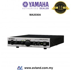 Yamaha MA2030A Switchable 2 Channel Compact Mixer Amplifier with DSP (MA-2030A)