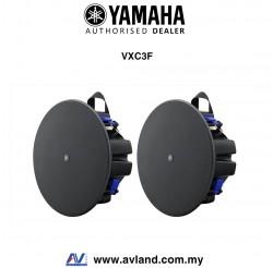 "Yamaha VXC3F VXC Series 3.5"" Full Range Ceiling Speakers - Black (Pair)"