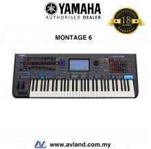 Yamaha Montage 6 61-key Music Synthesizer (Montage6)