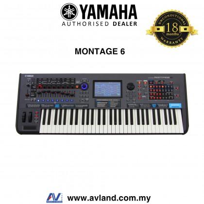 Yamaha Montage 6 61-key Music Synthesizer (Montage6)
