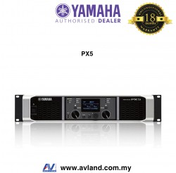 Yamaha PX5 2-channel Power Amplifier (PX-5) * Crazy Sales Promotion *
