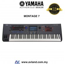 Yamaha Montage 7 76-key Music Synthesizer (Montage7)
