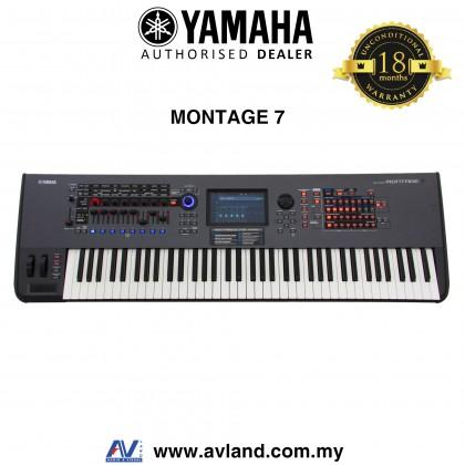 Yamaha Montage 7 76-key Music Synthesizer (Montage7)