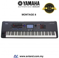 Yamaha Montage 8 88-key Music Synthesizer (Montage8)