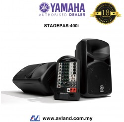 Yamaha Stagepas 400i Portable PA System (Stagepas400i)