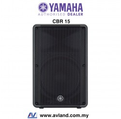 Yamaha CBR15 15-Inch 2-Way Passive Loudspeaker (CBR-15) *Crazy Sales Promotion*