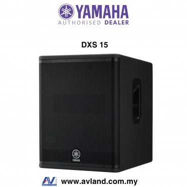 "Yamaha DXS15 - 15"" DXR Series Powered Subwoofer (DXS-15)"