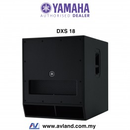 "Yamaha DXS18 - 18"" DXR Series Powered Subwoofer (DXS-18)"