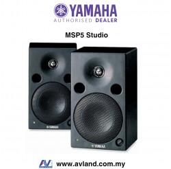 Yamaha MSP5 STUDIO Powered Studio Monitor Speaker Pair (MSP-5 Studio)