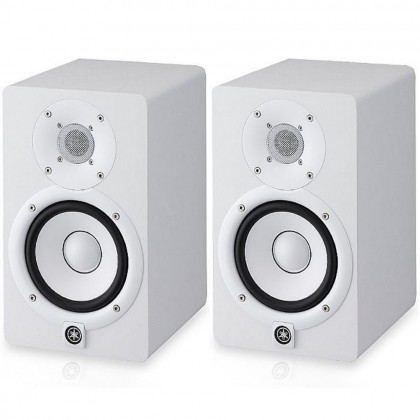 Yamaha HS5 5-Inch Powered Studio Monitor Speaker - White Pair (HS-5 W)