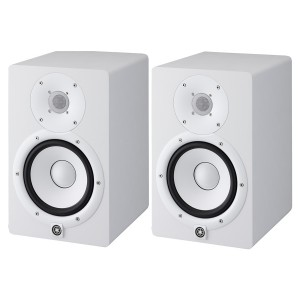 Yamaha HS7 6.5-Inch Powered Studio Monitor - White (HS-7 W)