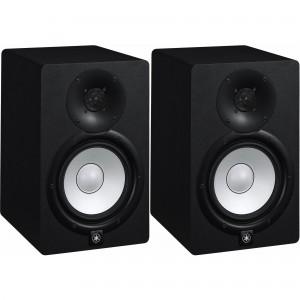 Yamaha HS7 6.5-Inch Powered Studio Monitor - Black Pair (HS-7)