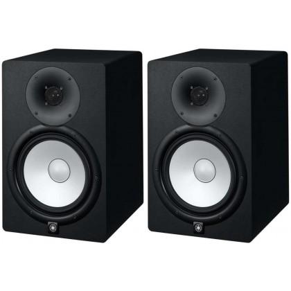 Yamaha HS8 8-Inch Powered Studio Monitor Speaker - Black Pair (HS-8)