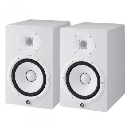Yamaha HS8 8-Inch Powered Studio Monitor Speaker - White Pair (HS-8 W)
