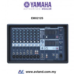 Yamaha EMX212S 12-Channel Powered Mixer (EMX 212S / EMX-212S)