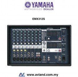 Yamaha EMX312SC 12-Channel Powered Mixer (EMX 312SC / EMX-312SC)