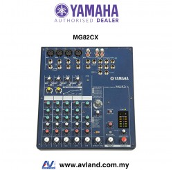 Yamaha MG82CX 8-Input Stereo Mixer with Compression and Effects (MG 82CX / MG-82CX)