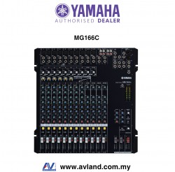 Yamaha MG166C 16-Channel Mixer with Compression (MG 166C / MG-166C)