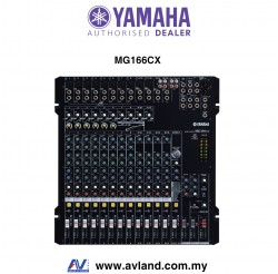 Yamaha MG166CX 16-Channel Mixer (MG 166CX / MG-166CX)