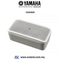 "Yamaha VXS3SW VXS Series 10"" Surface Mount Subwoofer- White (VXS-3SW)"