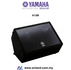 "Yamaha A12M 12"" 2-Way Floor Monitor"
