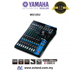 Yamaha MG12XU 12-Channel Mixer and Effects (MG 12XU) * Crazy Sales Promotion *