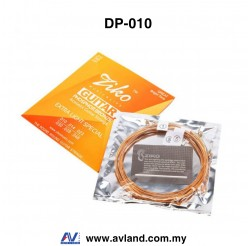 Ziko DP-010 Acoustic Guitar String - Phosphor Bronze (DP010)