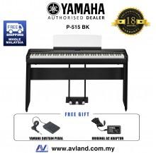 Yamaha P-515 88-Keys Digital Piano Black (P515 / P 515)