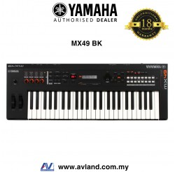 Yamaha MX-49 49-Key Music Synthesizer - Black (MX49 / MX 49)
