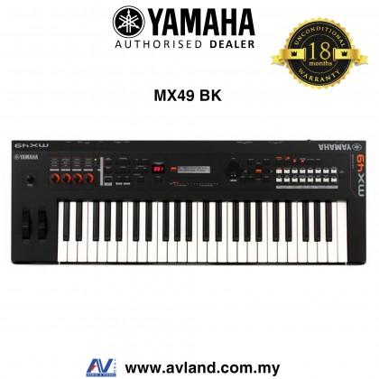 Yamaha MX-49 49-Key Music Synthesizer - Black (MX49 / MX 49)