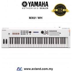 Yamaha MX-61 61-Key Synthesizer - White (MX61 / MX 61)