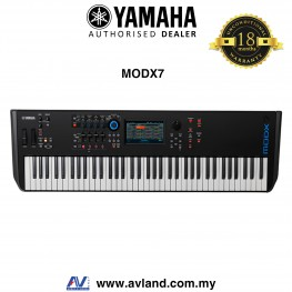 Yamaha MODX7 76-Key Synthesizer (MODX 7/MODX-7)