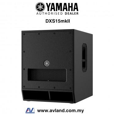 Yamaha DXS15 MKII 15 inch DXR Series Active Subwoofer (DXS-15/DXS 15)
